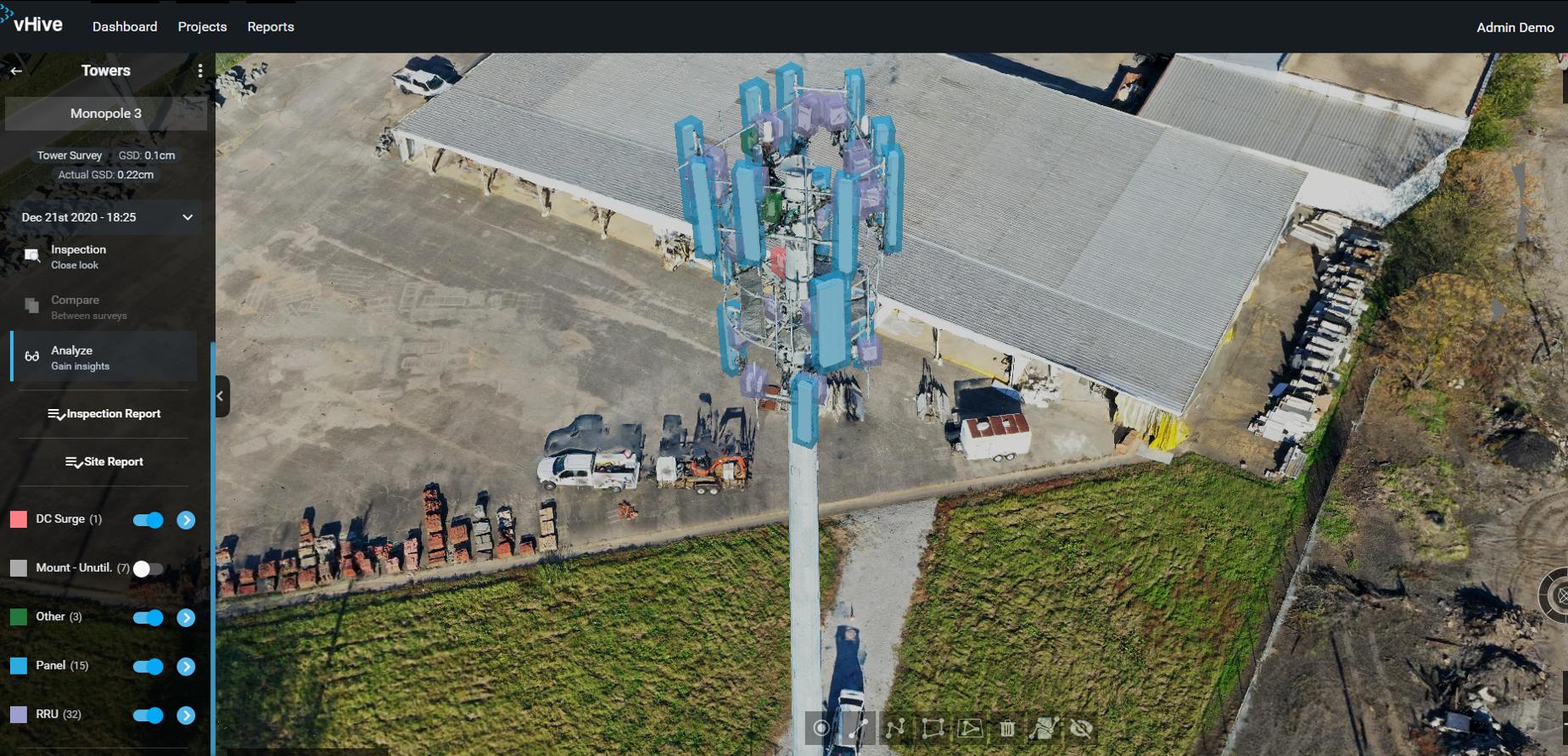 interactive 3D models of equipment